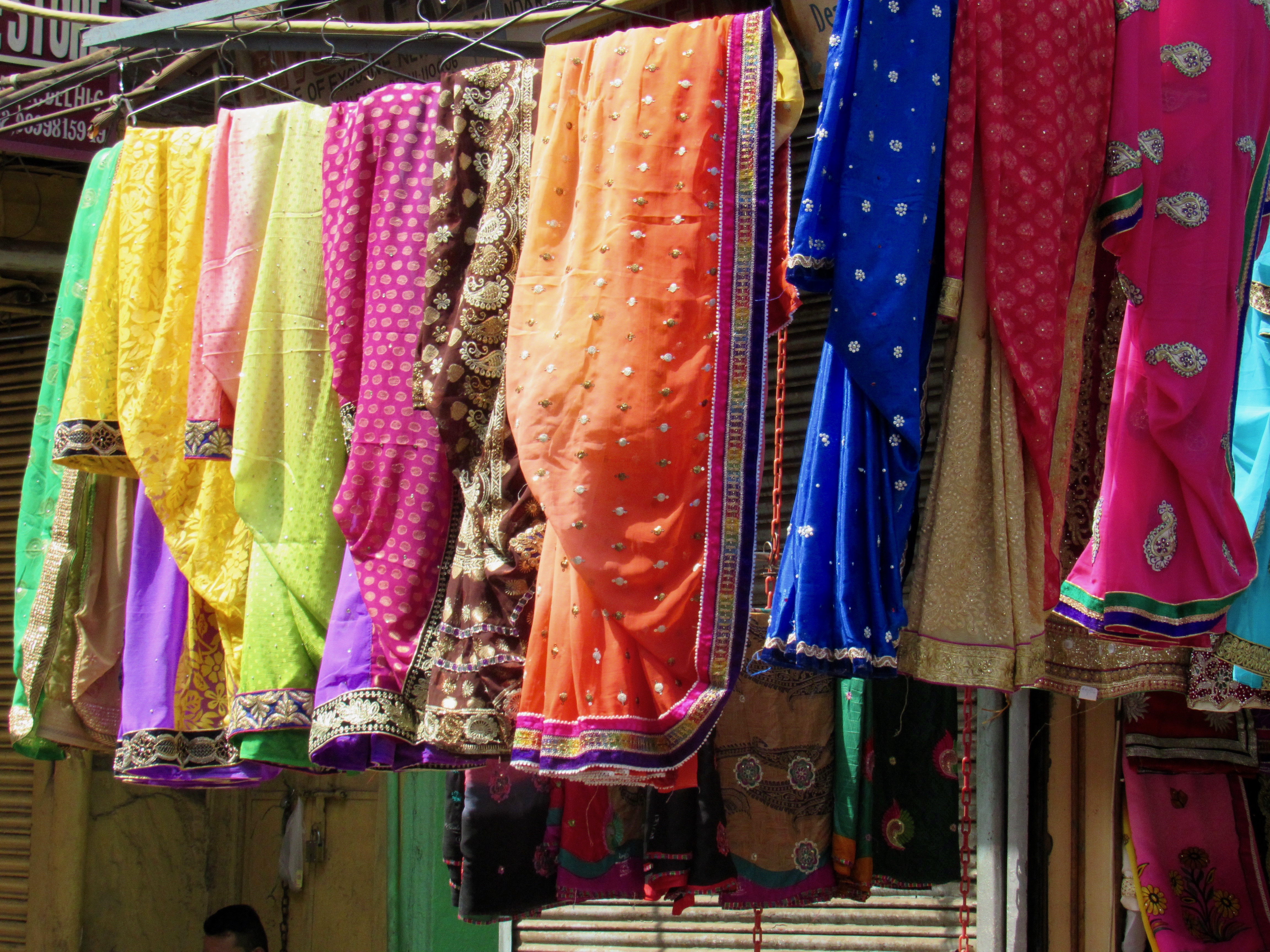 this line of saris