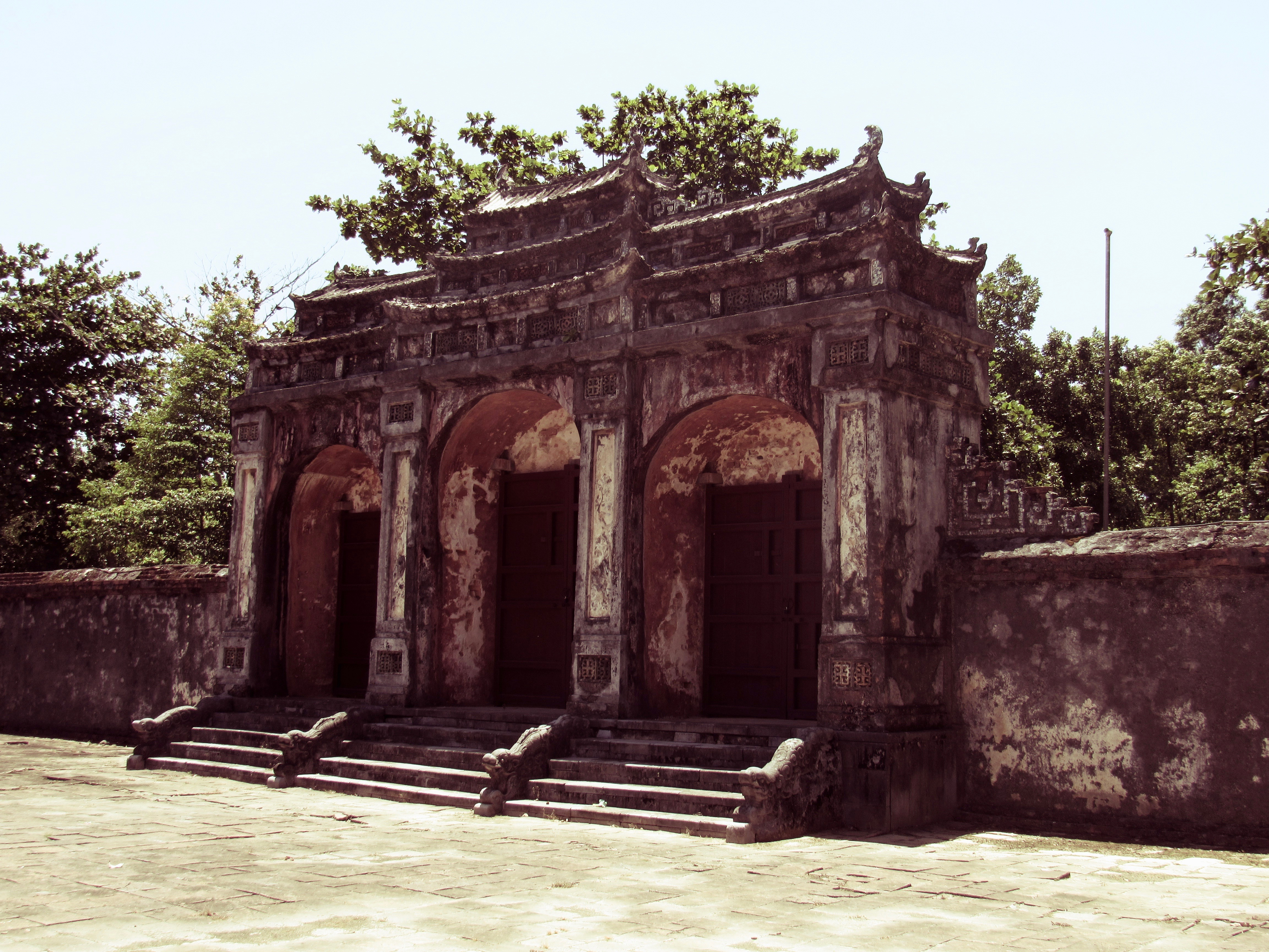 ancient gate at Hue