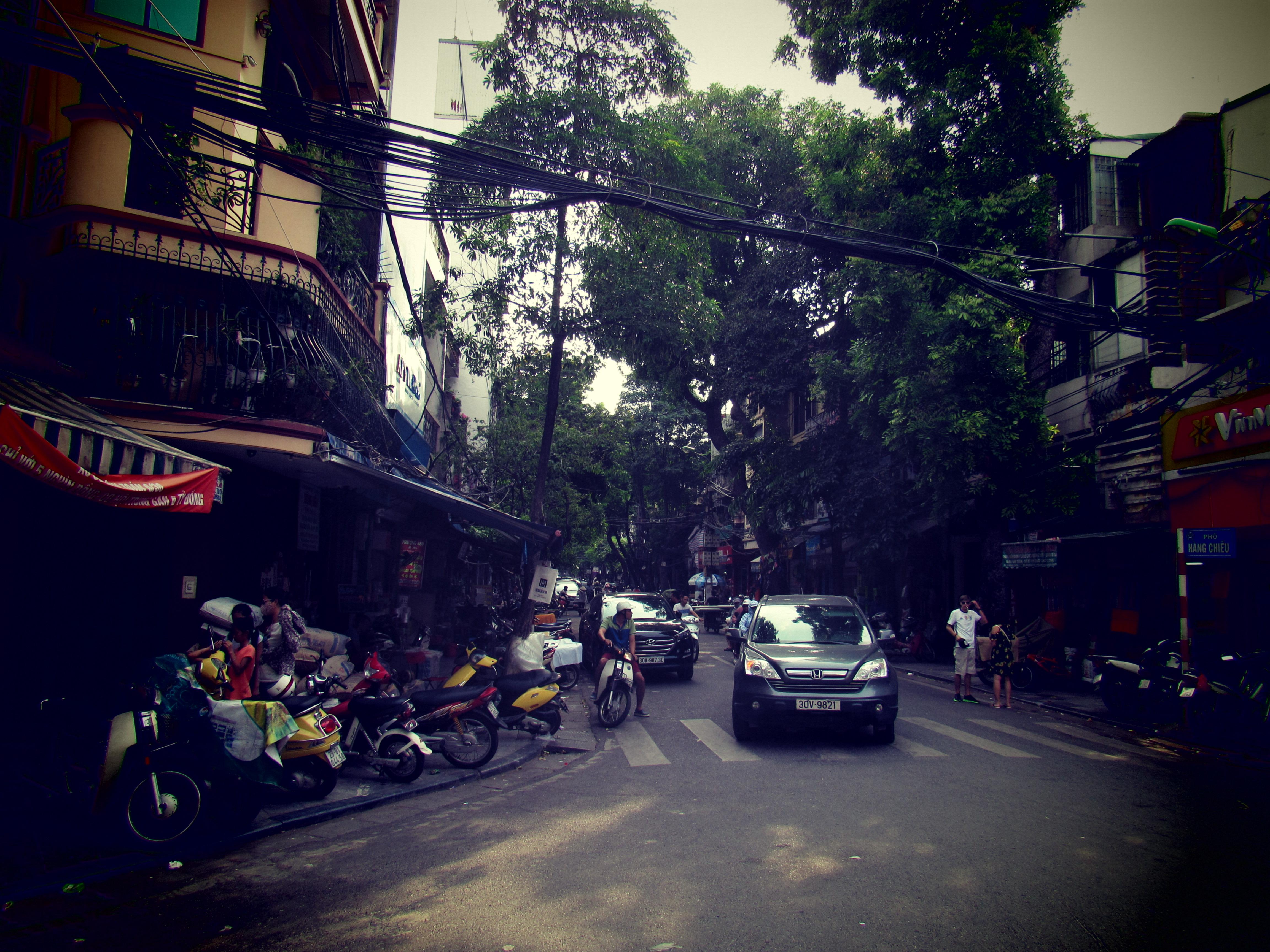 summer street Hanoi