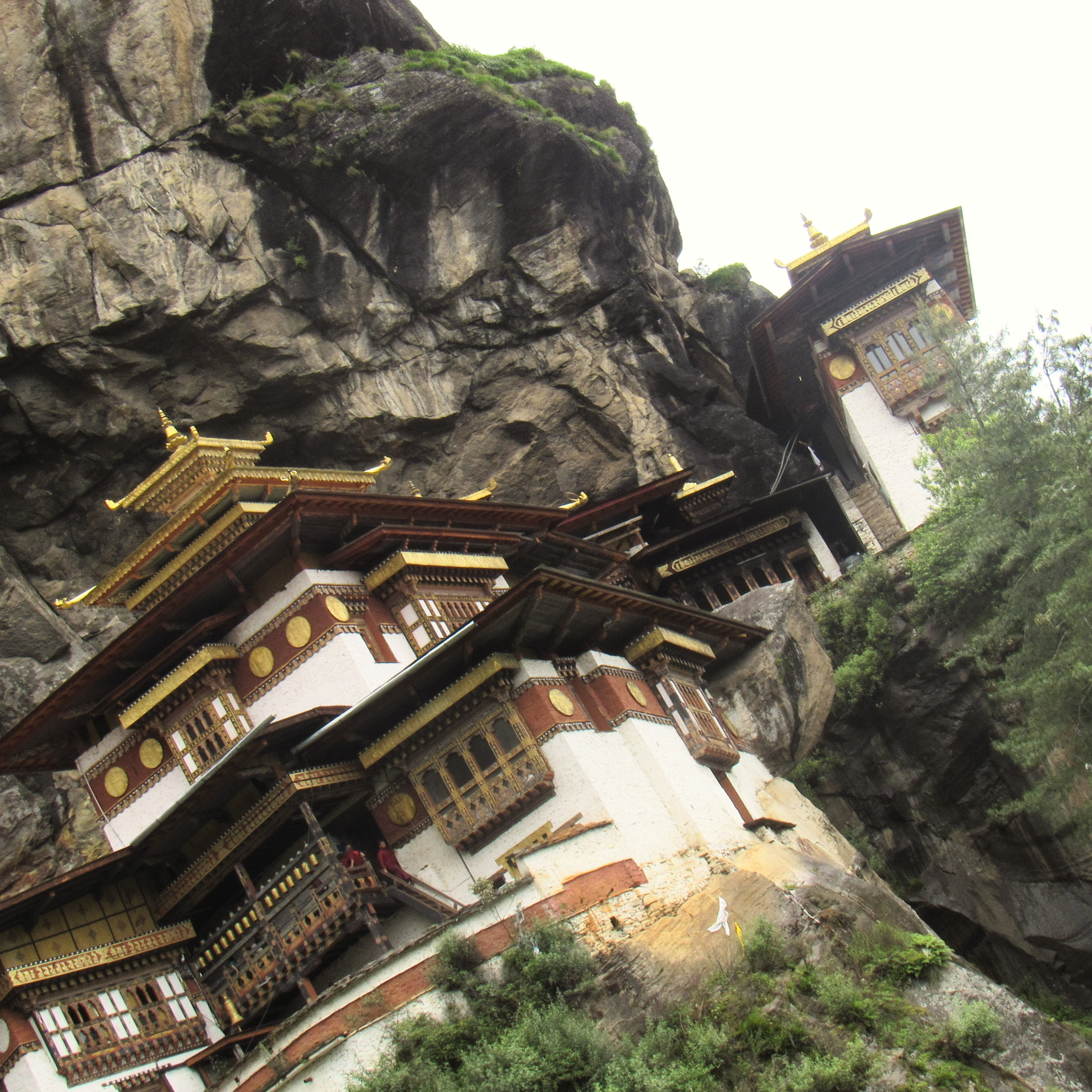reaching Tiger's Nest