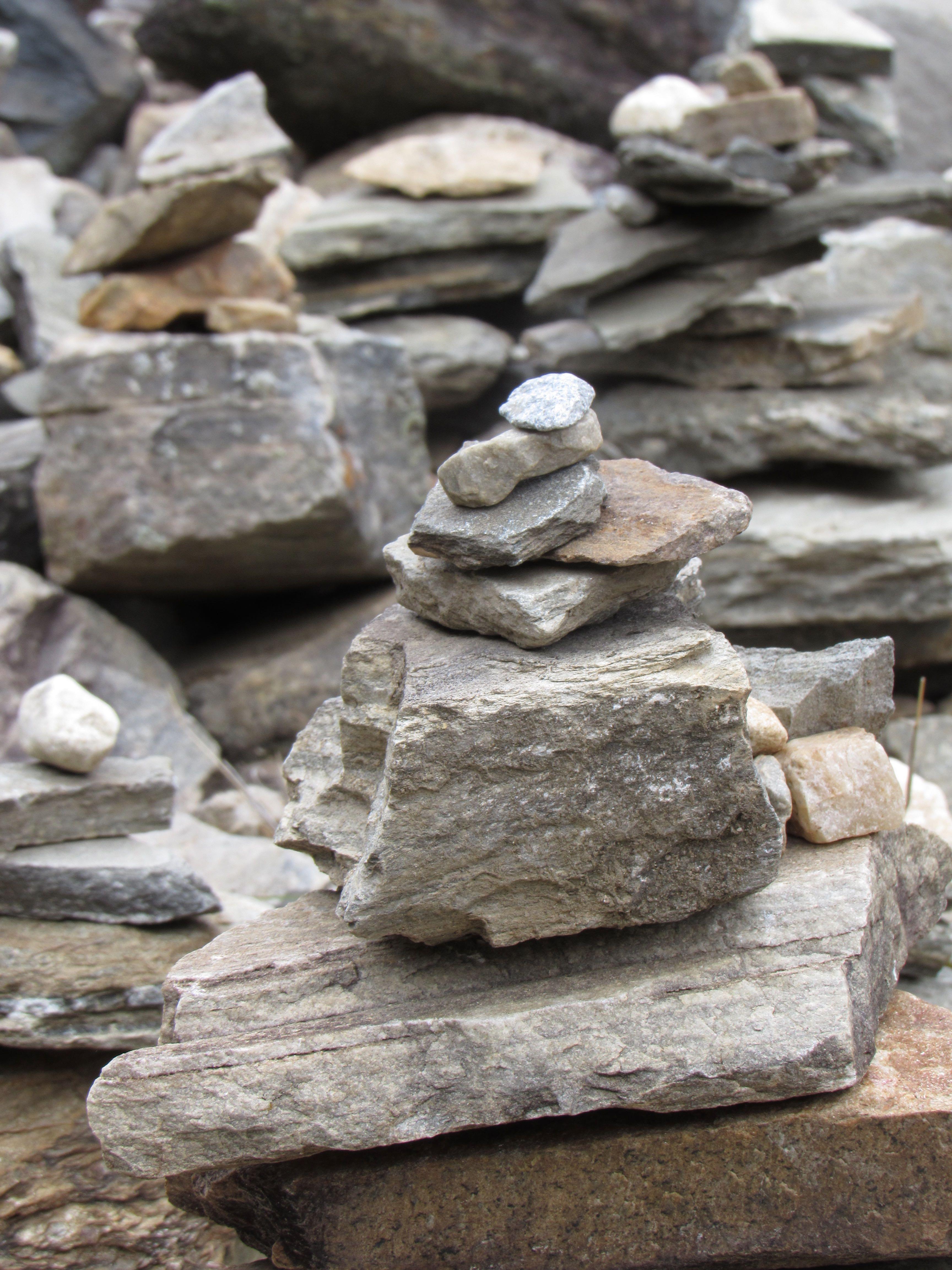 stack of stones