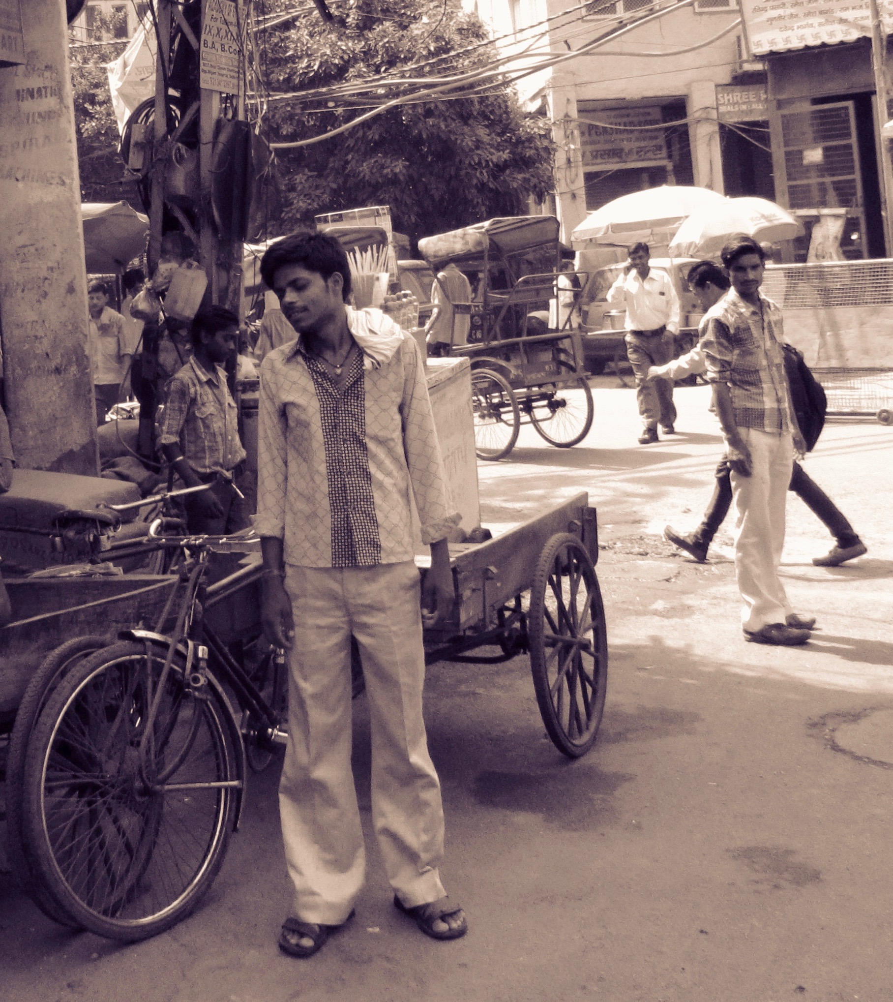 The rickshaw wallah