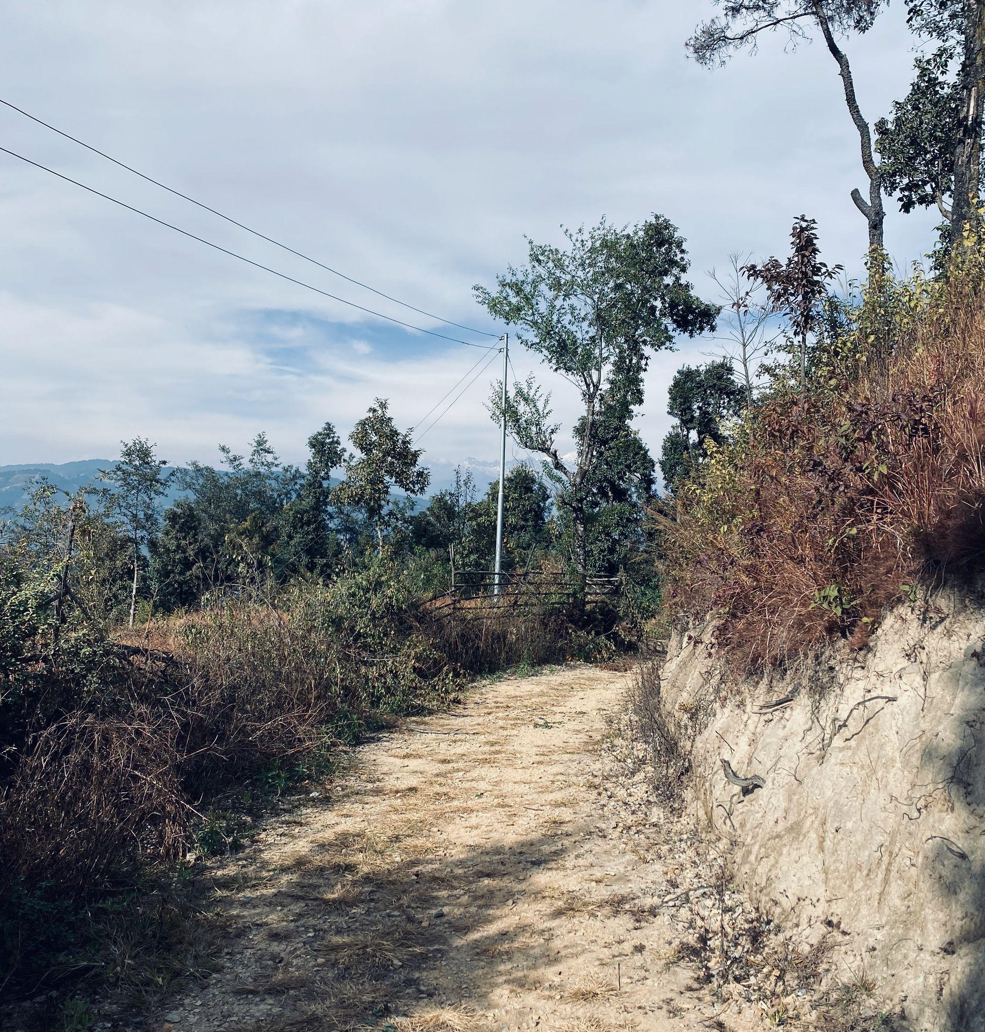 Temple path
